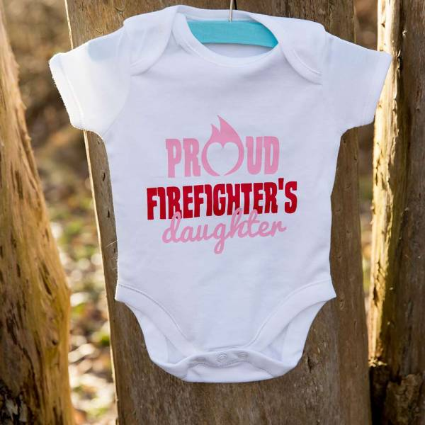 Rompertje Proud Firefighters Daughter