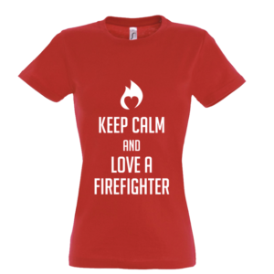 Brandweer t-shirt 'Keep calm'