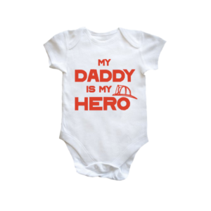 Brandweer rompertje - My daddy is my hero